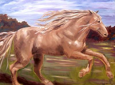 Art Print featuring the painting Storm by Diane Daigle