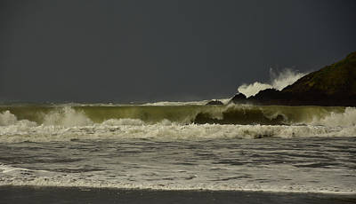 Photograph - Storm Doonsheane Beach by Barbara Walsh