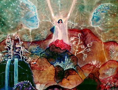 Crystalline Painting - Storm Energy by Jane Tripp
