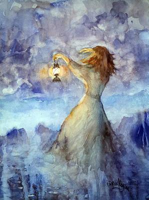Storm... Art Print by Faruk Koksal