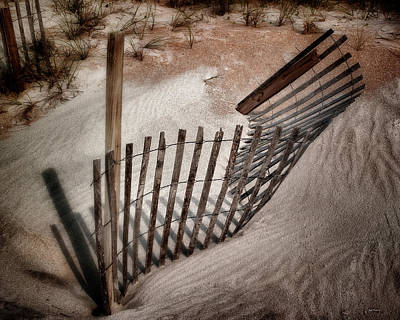 Photograph - Storm Fence Series No. 2 by John Pagliuca