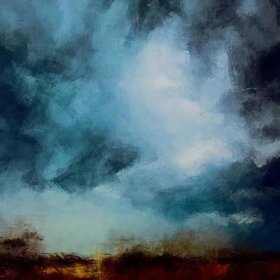 Nonrepresentational Digital Art - Storm Fields by Lonnie Christopher