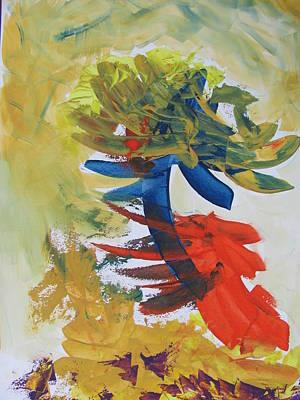 Painting - Storm Flower by Vlado Katkic