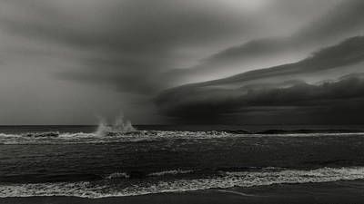 Photograph - Storm Front 1 Delray Beach Florida by Lawrence S Richardson Jr
