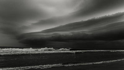 Photograph - Storm Front 2 Delray Beach Florida by Lawrence S Richardson Jr