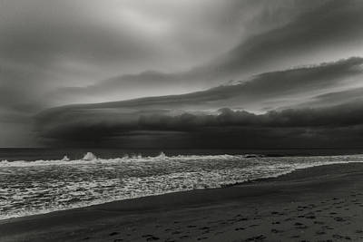 Photograph - Storm Front 3 Delray Beach Florida by Lawrence S Richardson Jr