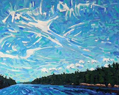 Storm Front Coming Art Print