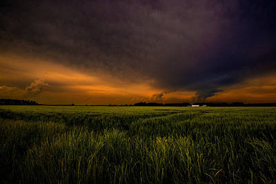 Photograph - Storm Front  by John Harding