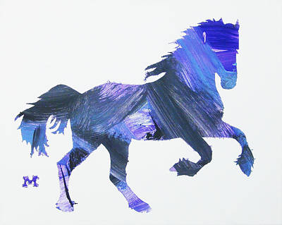 Painting - Storm Horse by Candace Shrope