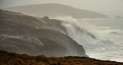 Photograph - Storm Imogen by Barbara Walsh
