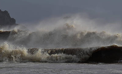 Photograph - Storm In Kerry by Barbara Walsh