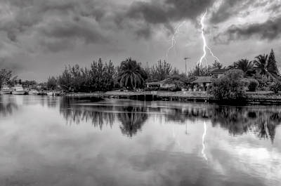 Photograph - Storm In Paradise by Jeremy Lavender Photography