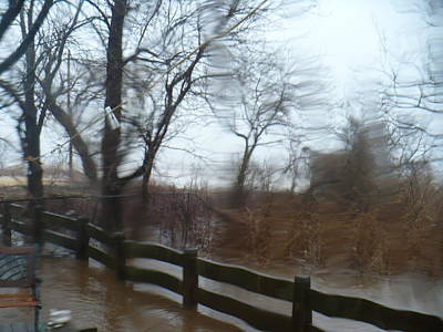 Art Print featuring the photograph Storm In Staten Island by Desline Vitto