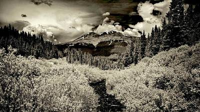 Photograph - Storm In The Highlands, Summit County, Colorado by Flying Z Photography by Zayne Diamond