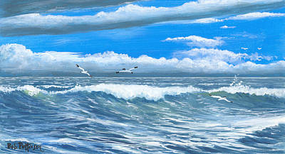 Washington State Skagit County Painting - Storm Is Coming by Bob Patterson