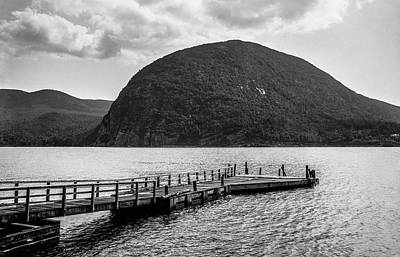 Photograph - Storm King Mountain, Summer 1880 by The Hudson Valley