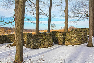 Photograph - Storm King Wall In Golden Hour by Angelo Marcialis