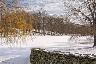 Photograph - Storm King Wall In Winter by Angelo Marcialis
