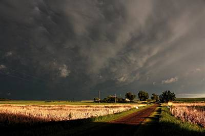 Photograph - Storm Lane by David Matthews