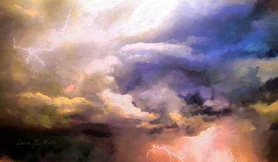 Painting - Storm by Lelia DeMello
