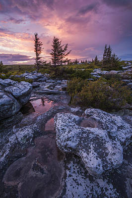 Storm Light Print by Joseph Rossbach