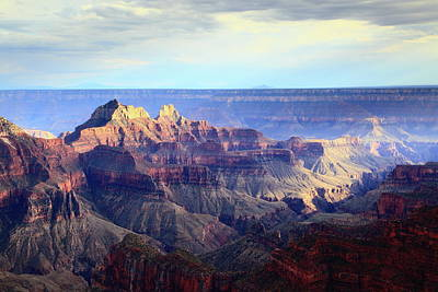 Photograph - Storm Light Over The Grand Canyon by Roupen  Baker