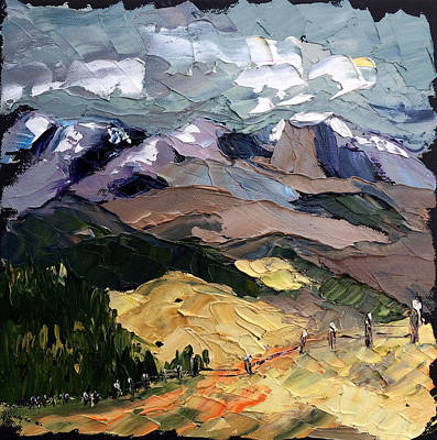 Painting - Storm Moving In by Carrie Jacobson