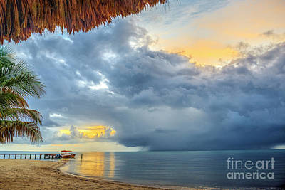 Photograph - Storm Moving In. by David Zanzinger