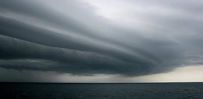 Photograph - Storm Near Liberia by Brett Winn