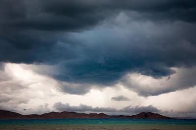 Storm On Karakul Lake Art Print