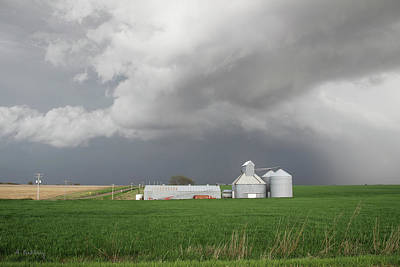 Photograph - Storm On The Great Plains by Andrea Kelley