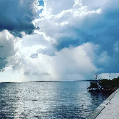 Park Photograph - Storm On The Gulf by Ric Schafer