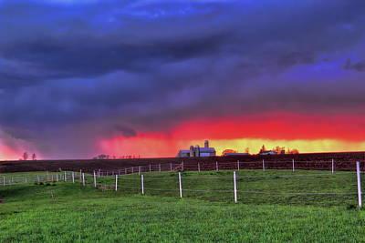 Photograph - Storm On The Horizon by Dale Kauzlaric