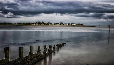 Lightning Photograph - Storm On The Horizon by Martin Newman