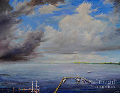 Painting - Storm On The Indian River by AnnaJo Vahle