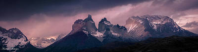 Photograph - Storm On The Peaks by Andrew Matwijec