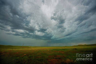 Photograph - Storm On The Plains by David Arment