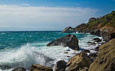 Photograph - Storm On The Sea. Crimea by Natalia Otrakovskaia