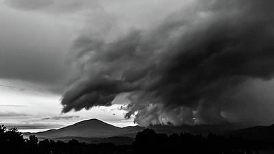 Photograph - Storm Over Burke by Tim Kirchoff