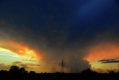 Photograph - Storm Over Central Florida by David Lee Thompson