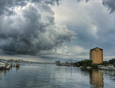 Photograph - Storm Over Destin Florida by Dustin Miller