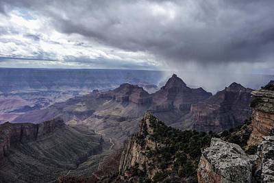 Photograph - Storm Over Grand Canyon by NaturesPix