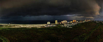 Photograph - Storm Over Gulf Shores Alabama by Michael Thomas