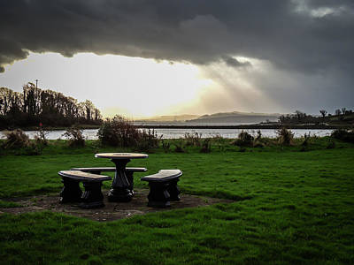 Photograph - Storm Over Ireland's Shannon Estuary by James Truett