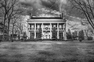 Photograph - Storm Over Loyd Hall Plantation by Andy Crawford