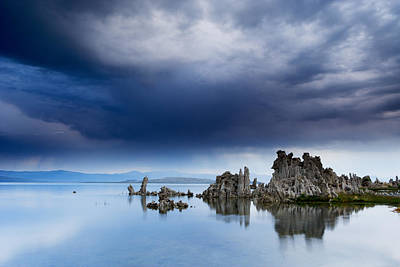Photograph - Storm Over Mono Lake by Eric Foltz