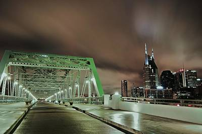 Photograph - Storm Over Nashville by Matt Helm