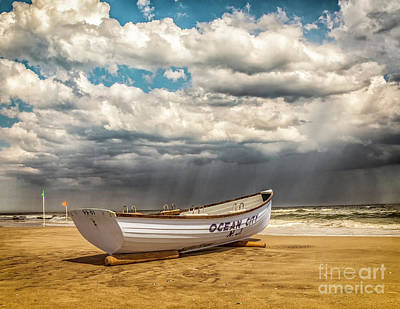 Photograph - Storm Over Ocean City by Nick Zelinsky