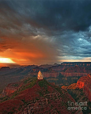 Photograph - Storm Over Point Imperial Grand Canyon Arizona by Dave Welling