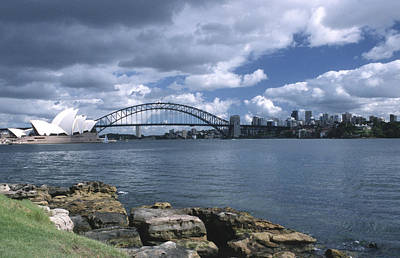 Photograph - Storm Over Sydney Harbor by Sandra Bronstein